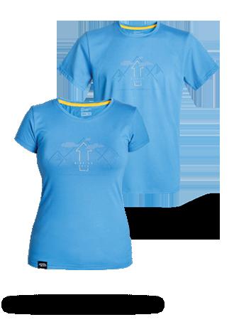 Camiseta AZUL MONTAÑA hombre / mujer