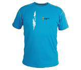 T-SHIRT BLUE CRACK