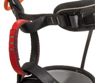 C5037 / ATTACK III - red gear loops, Rock&Lock buckle