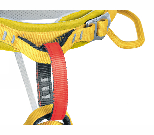 C5059 / ONYX - color belay loop, stainless steel Rock&Lock buckle