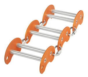 K0050OS03 / EDGE ROLLER - set (consists of 3 modules and 4 maillons)