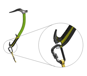 RK112 / BUNGEE - attachment to the ice axe (when ice climbing)