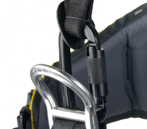 EXPERT III speed/standard - shoulder straps and wais belt connected by OZONE triple lock