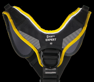 EXPERT 3D - reflective strap on the shoulder padding