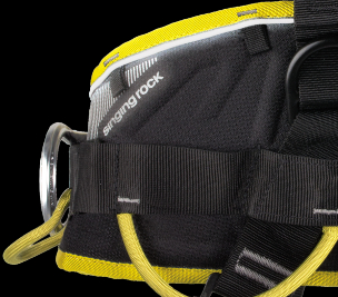 EXPERT 3D - reflective strap and printing on the waist belt