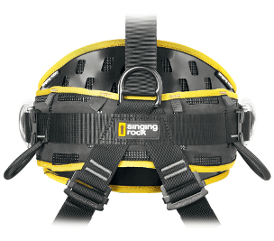 harness with the EX-TEN III support - back view