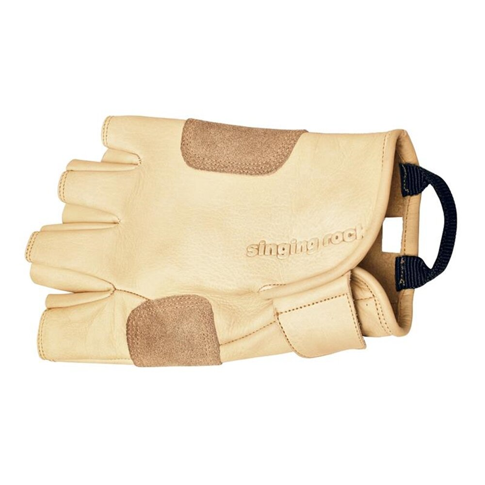 Singing Rock  Leather Grippy Full Gloves