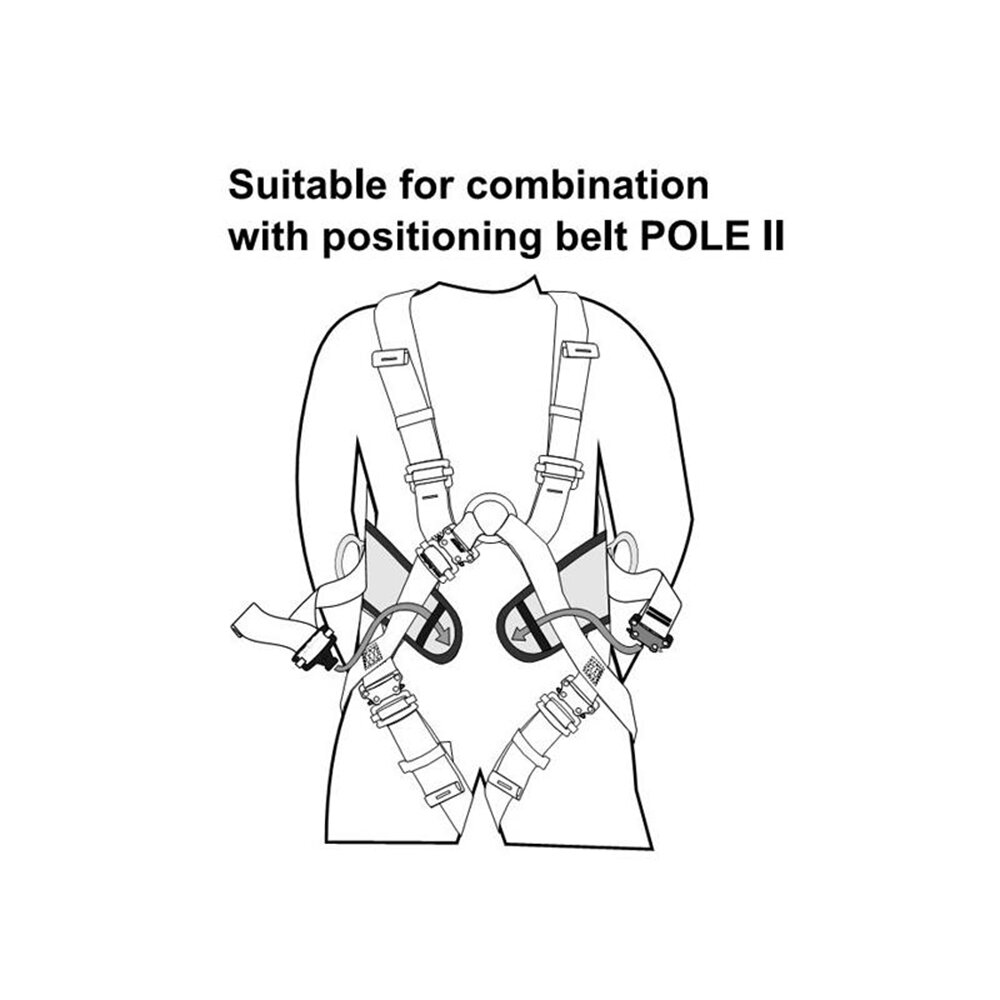 easy climbing harness