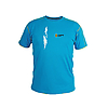 C1026AX / T-SHIRT BLUE CRACK - on the front climber illustration