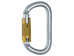 OVAL STEEL CONNECTOR / TRIPLE LOCK